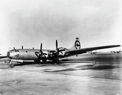 Atom Bomb Photograph - Boeing B-29 'enola Gay' by Us Department Of Energy