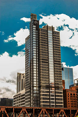 Photograph - Boeing Building Chicago by Alan Marlowe