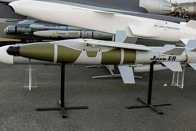 Photograph - Boeing Jdam-er Gps-guided Bomb by Timm Ziegenthaler