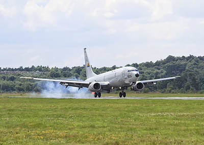 Photograph - Boeing P-8 Poseidon by Shirley Mitchell