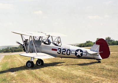 Photograph - Boeing Stearman by Paul Gulliver