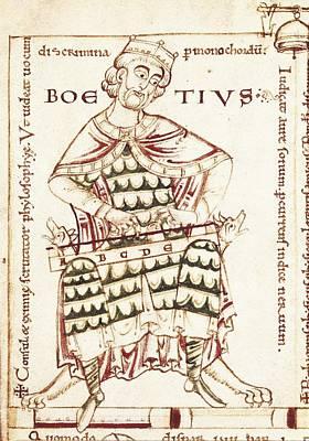 Boethius Photograph - Boethius, Anicius Manlius Severinus by Everett