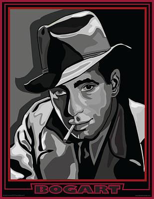 Bogie Digital Art - Bogart by Larry Butterworth