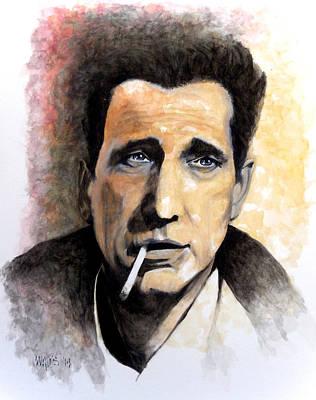 Casablanca Film Painting - Bogart by William Walts