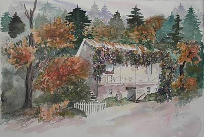 Placerville Painting - Boeger Winery  by Gayle  Jimison