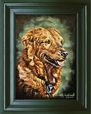 Painting - Bogey by Craig T Burgwardt
