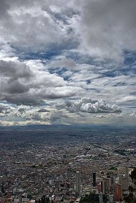 Photograph - Bogota Skyline by Steven Richman