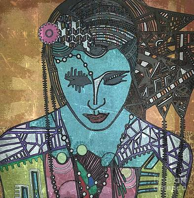 Bohee Woman Print by Amy Sorrell