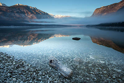 Pebbles Photograph - Bohinj's Tranquility by