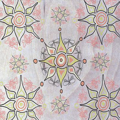 Boho Tile I Art Print