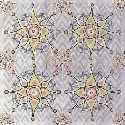 Boho Tile IIi Art Print