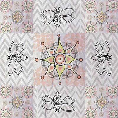 Boho Tile Iv Art Print