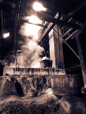 Boiling Point In Bw Art Print