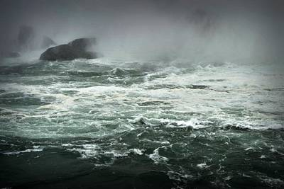 Photograph - Boiling Sea by Nadalyn Larsen