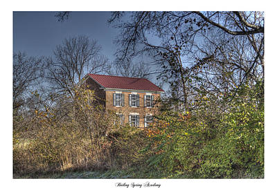 Brentwood Tn Photograph - Boiling Spring Academy by Gina Munger