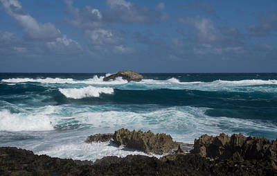 Boiling The Ocean At Laie Point - North Shore - Oahu - Hawaii Art Print
