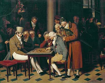 Boilly, Louis Leopold 1761-1845. Game Art Print