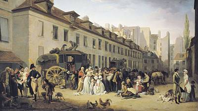 Boilly, Louis Leopold 1761-1845. The Art Print