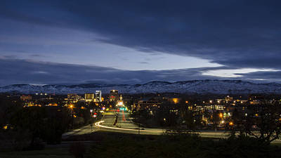 Photograph - Boise Dawn 2 by David Martorelli