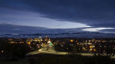 Photograph - Boise Dawn 2 by David Martorelli