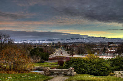 Photograph - Boise Dawn by David Martorelli