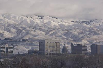 Decor Photograph - Boise Downtown Winter by Steve Smith