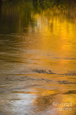 Photograph - Boise River Autumn Abstract by Vishwanath Bhat