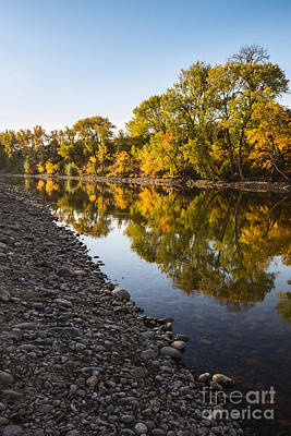 Photograph - Boise River Autumn In Boise Idaho by Vishwanath Bhat