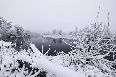 Photograph - Boise River In Winter by Vishwanath Bhat