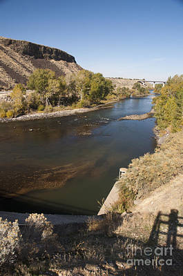 Photograph - 238p Boise River Near Diversion Dam by NightVisions