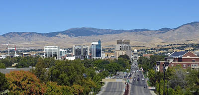 Photograph - Boise Skyline by Shanna Hyatt