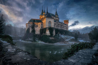Castle Photograph - Bojnice Castle by Karol Va?an