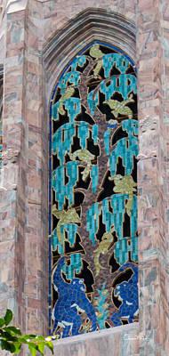 Photograph - Bok Tower Art Deco Windows I by Susan Molnar