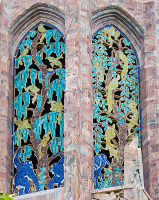 Photograph - Bok Tower Art Deco Windows II by Susan Molnar