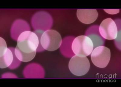 Photograph - Bokeh Dots by Chris Anderson