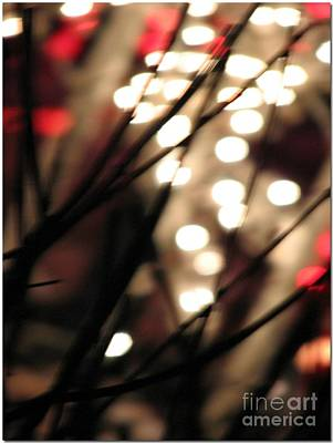 Photograph - Bokeh Light Abstraction by Chris Anderson