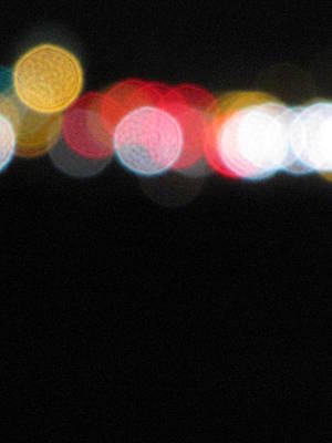 Photograph - Bokeh Line by Liz Hill