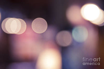 Photograph - Bokeh by Sharon Mau