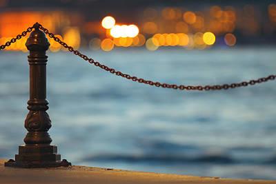 Bosphorus Photograph - Bokeh by Ugur Ugurlu