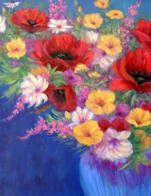 Painting - Bold And Beautiful by Irene Hurdle