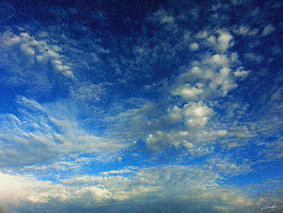 Cloudscape Digital Art - Bold Skyscape by Dale Jackson