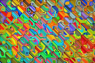Digital Art - Bold Weave by Liane Wright