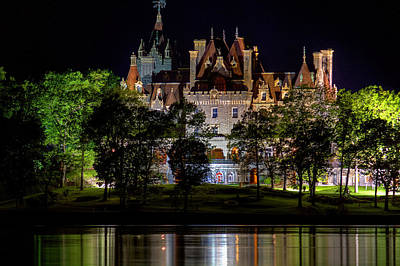 Photograph - Boldt Castle On Heart Island by Don Nieman