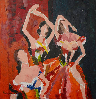Painting - Bolero by May Ling Yong