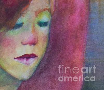 Painting - Bolero's Face by Sherry Davis