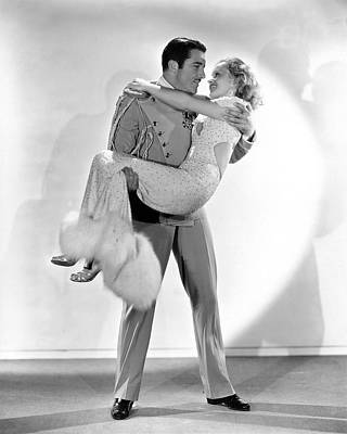 Movie Star Photograph - Boles Carries Harvey by Underwood Archives