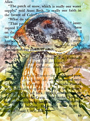 Boletus Edulis Close Up Original by Beverley Harper Tinsley