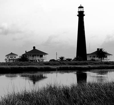 Boliver Lighthouse Print by Darryl Weatherly