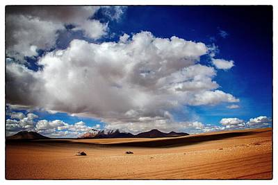 Photograph - Bolivia Cloud Valley Framed by For Ninety One Days