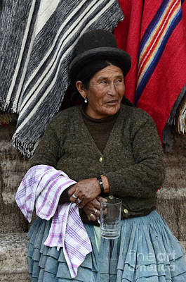 Photograph - Bolivia South America 2 by Bob Christopher